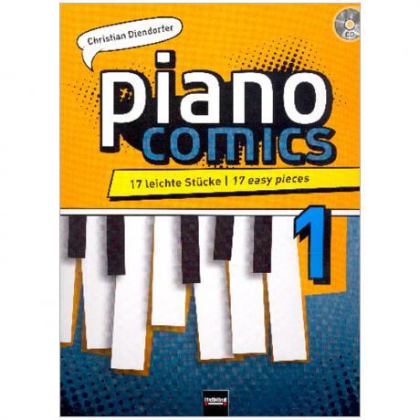Diendorfer, C.: piano comics 1 (+CD)