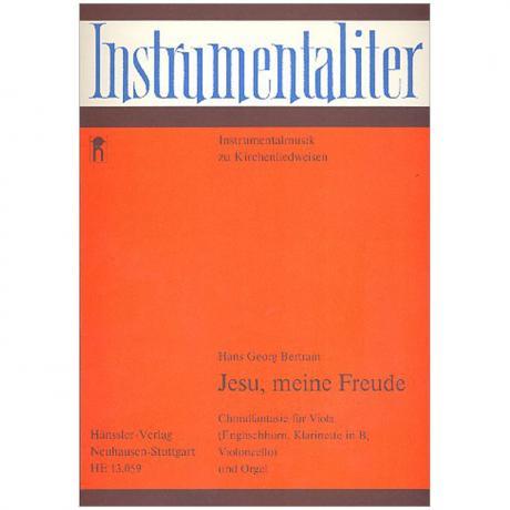 Bertram, H. G.: Jesu, meine Freude – Choralfantasie (1959/76)