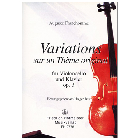 Franchomme, A.: Variations Op. 3 F-Dur