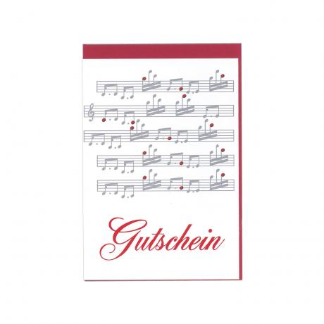 Greeting card Gutschein