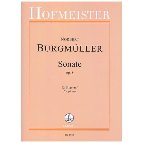 Burgmüller, N.: Sonate Op.8