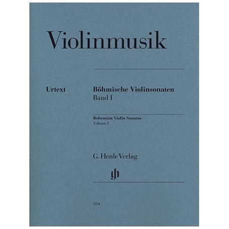 Böhmische Violinsonaten Band I