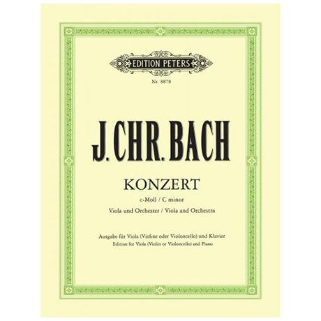 Bach, J. Ch.: Violakonzert c-Moll (Casadesus)