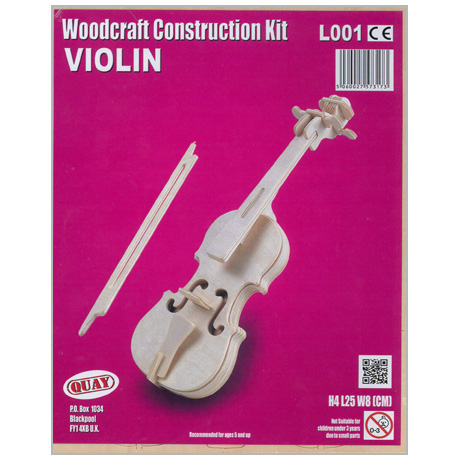 Woodcraft Construction Kit Violin
