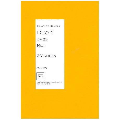 Dancla, J. B. Ch.: Duo Op. 33/1 A-Dur