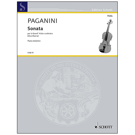 Paganini, N.: Violasonate »per la Grand' Viola«
