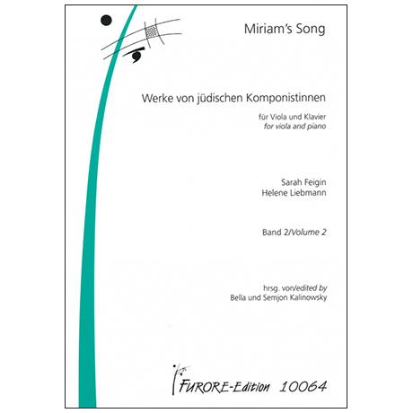 Miriam's Song – Werke jüdischer Komponistinnen Band 2
