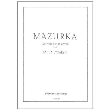 Mlynarski, E.: Mazurka
