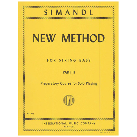 Simandl, F.: New Method Vol. 2