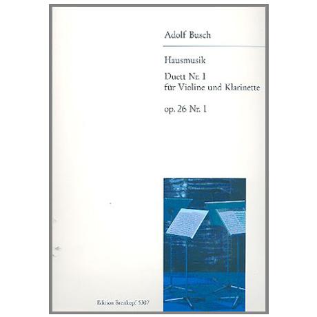Busch, A.: Duett Nr. 1 Op. 26,1