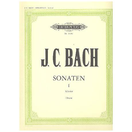 Bach, J. Chr. (1735-1782): 10 ausgewählte Sonaten Band I