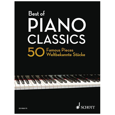 Heumann, H.-G.: Best of Piano Classics – Hardcover