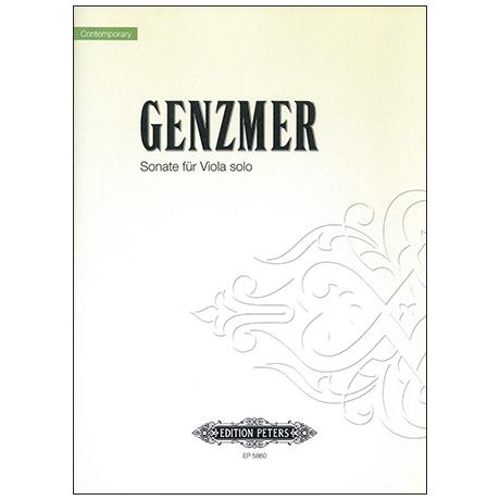 Genzmer, H.: Violasonate (1957)