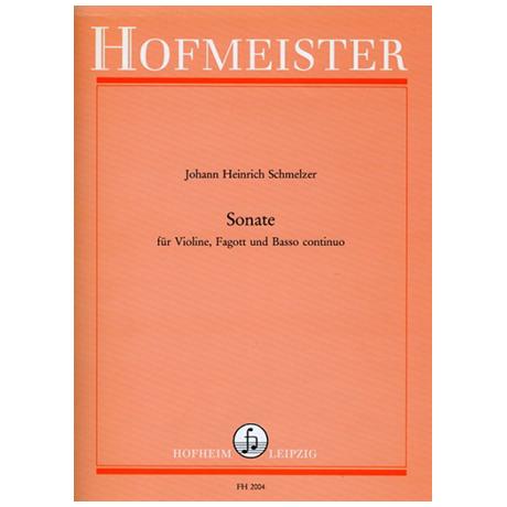 Schmelzer, J. H.: Sonate