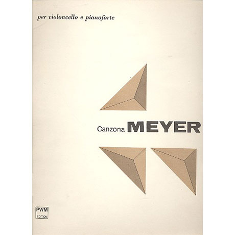 Meyer, K.: Canzona Op. 56