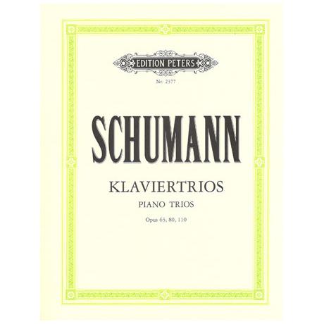 Schumann, R.: Klaviertrios Op. 63, 80, 110