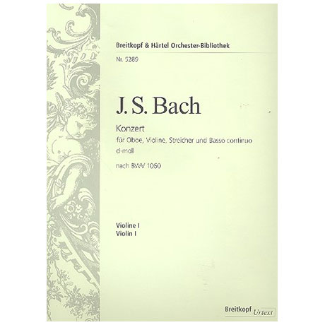 Bach, J. S.: Konzert d-Moll nach BWV1060
