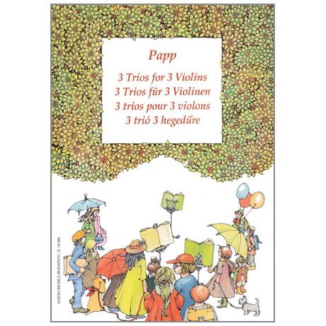 Papp, L.: 3 Trios