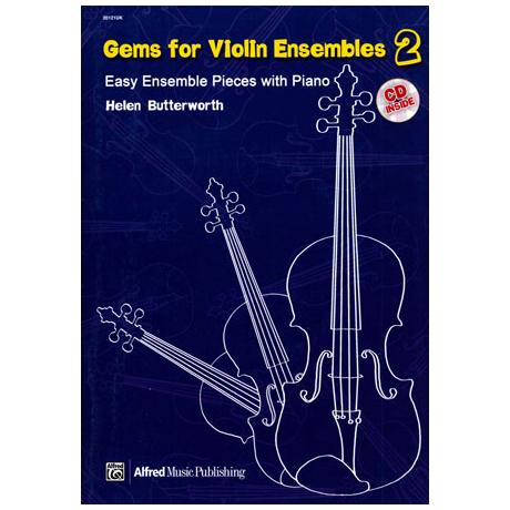 Butterworth, H.: Gems For Violin Ensembles Band 2 (+CD)