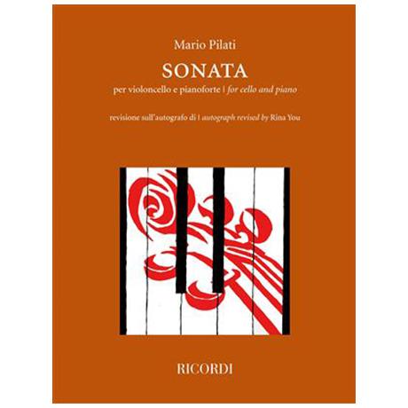 Pilati, M.: Violoncellosonate (1922)