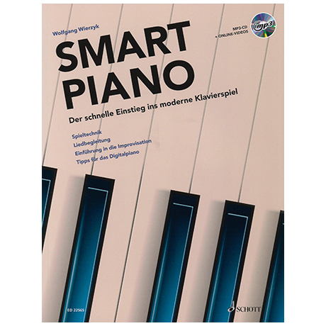Wierzyk, W.: Smart Piano (+MP3-CD & Online-Videos)