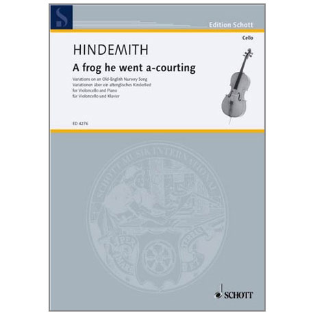 Hindemith, P.: A frog he went a-courting