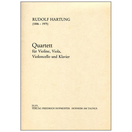Hartung, R.: Quartett