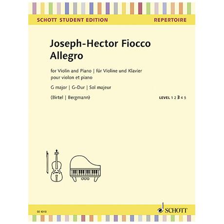 Fiocco, J.-H.: Allegro G-Dur