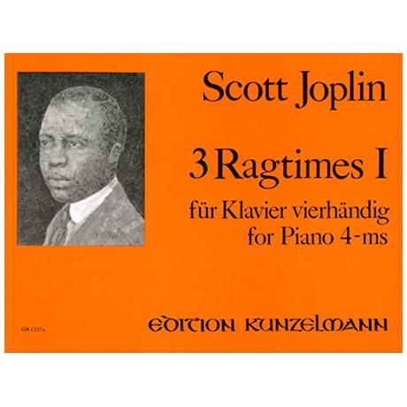 Joplin, S.: 3 Ragtimes Band 1