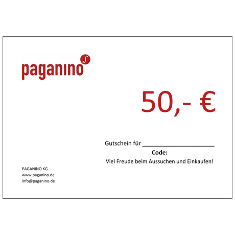 Gift certificate 50,- EUR