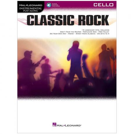 Classic Rock for Cello (+Online Audio)
