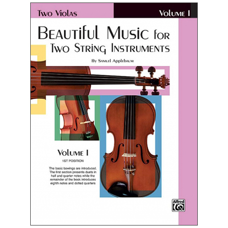 Applebaum, S.: Beautiful Music for two String Instruments Vol. 1 – Viola