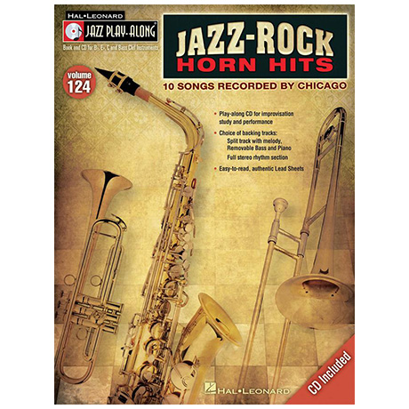 Jazz-Rock Horn Hits (+CD)