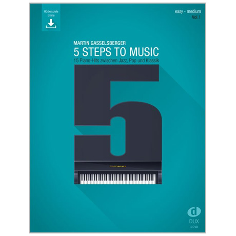 Gasselsberger, M.: 5 Steps to Music Band 1 (+Online Audio)