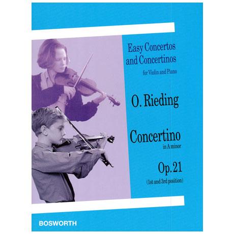 Rieding, O.: Concertino Op. 21 a-Moll