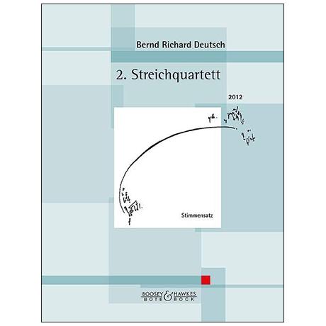 Deutsch, B. R.: 2. Streichquartett Op. 34 – Stimmen