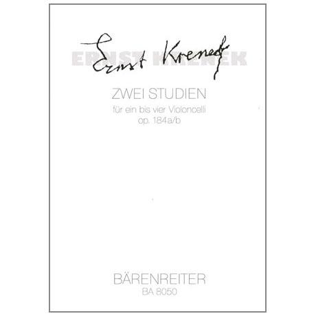 Krenek, E.: 2 Studien