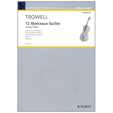 Trowell, A.: 12 Morceaux faciles Op. 4 Band 2 – Nr. 4-6