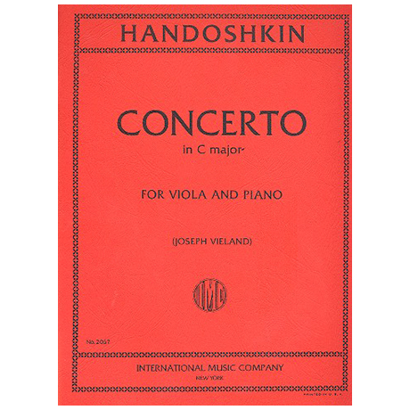 Chandoschkin, I.: Violakonzert C-Dur