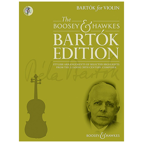 Bartók, B.: Bartók for Violin (+CD)