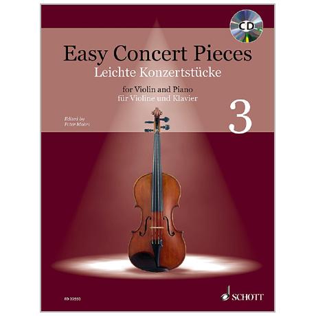Mohrs, P.: Leichte Konzertstücke Band 3 (+CD)