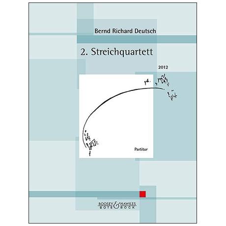 Deutsch, B. R.: 2. Streichquartett Op. 34 – Partitur