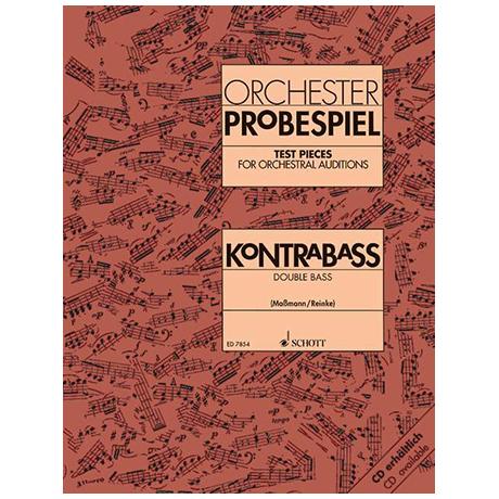 Reinke, G., Maßmann, F.: Orchester-Probespiel Kontrabass