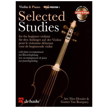 Selected Studies for Violin Band 1 (+CD)