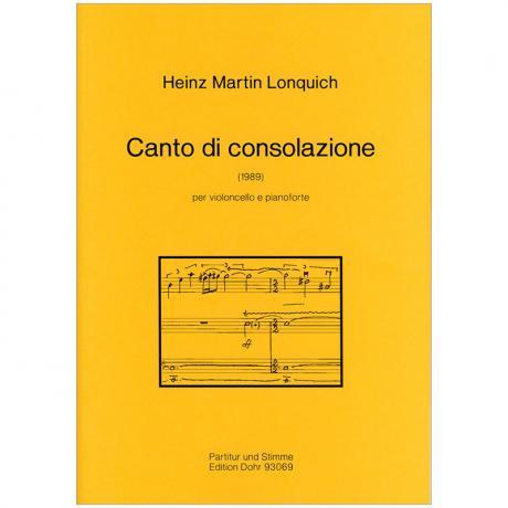 Lonquich, H. M.: Canto di Consolatione (1989)