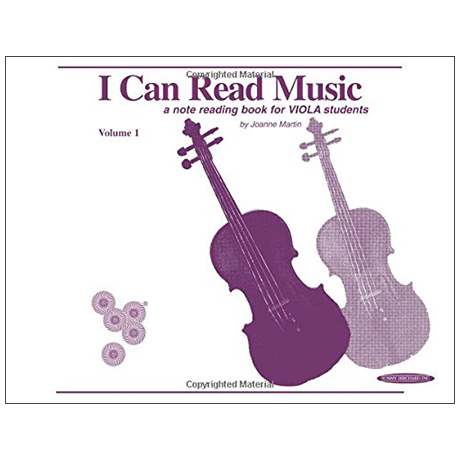 Martin, J.: I Can Read Music Volume 1