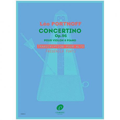 Portnoff, L.: Concertino Op. 96 g-Moll