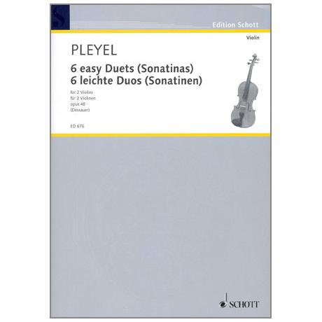 Pleyel, I. J.: 6 leichte Duos - Sonatinen Op. 48