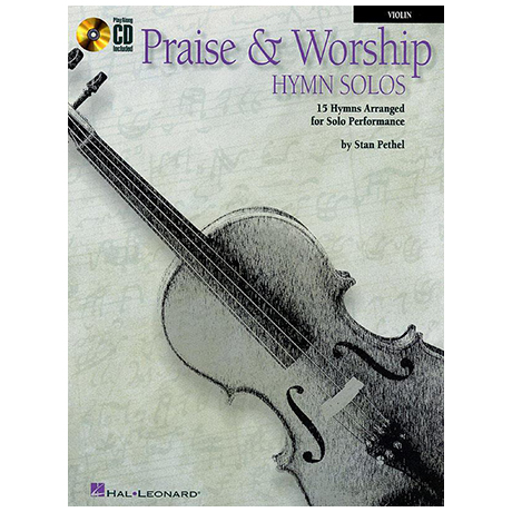 Praise and worship hymn solos (+CD)