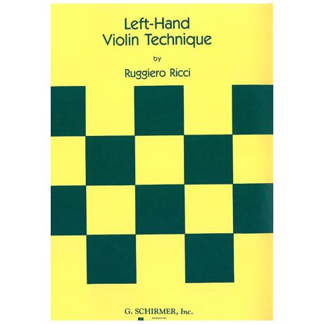 Ricci, R.: Left Hand Violin Technique